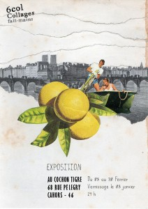 flyer-collage-exposition-cochon-tigre-cahors