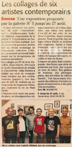 articles presse-collages-artistes-contemporains